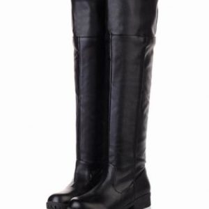 10-size-Yes-all-two-colors-cosplay-Attack-on-Titan-Scouting-Legion-long-boots-shoes-of-my-black-black-25cm-40-bk-japan-import-0