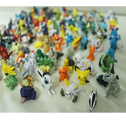A Lot nette 144 PC Pokemon Monster Mini Figur 2-3cm in Zufalls New Pokemon PVC Figuren Set