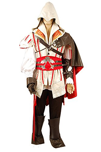 Assassins Creed 2 II Ezio Cosplay Kostüm Outfit Ausrüstung