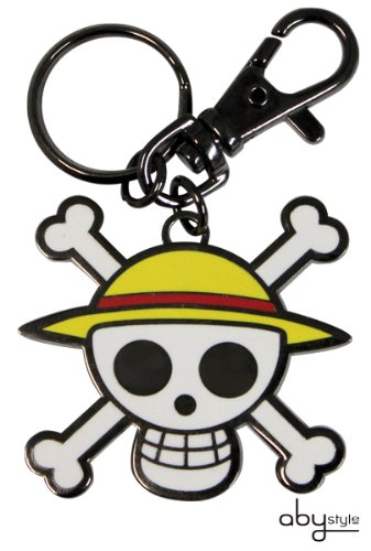 """AbyStyle – Porte-clés – ONE PIECE """"Skull – Luffy"""" – 3760116328449"""