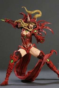 Action Figur WoW Blood Elf Rogue: Valeera Sanguinar (Serie I)