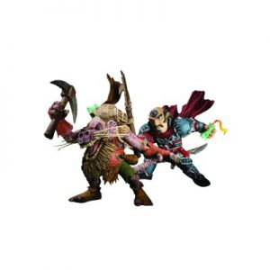 Action Figur WoW Gnome Rogue vs. Kobold Miner (Serie VIII)