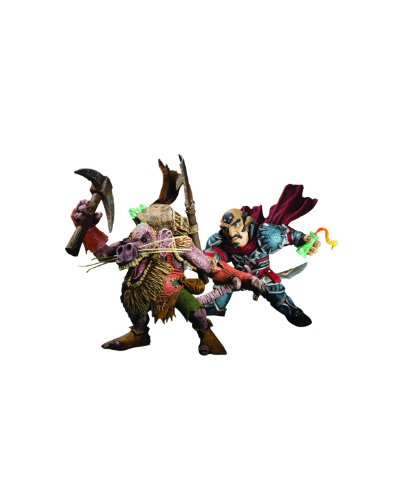 Action-Figur-WoW-Gnome-Rogue-vs-Kobold-Miner-Serie-VIII-0