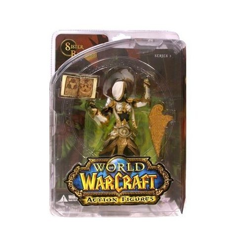 Action Figur WoW Human Priestess: Sister Benedron (Serie III)
