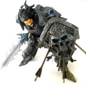 Action Figur WoW Human Warrior Archi. Shadowheart