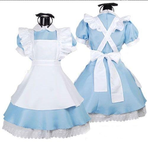 Alice wind maid cosplay costume Headband + high knee socks with AA01's Adventures in Wonderland (japan import)