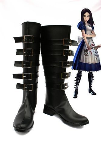 Alice:Madness Returns Cosplay Shoes Boots by warmcos