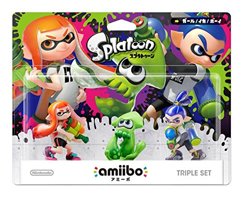 Amiibo Triple Set – Splatoon series Ver. [Wii U]Amiibo Triple Set – Splatoon series Ver. [Wii U] [Japanische Importspiele]
