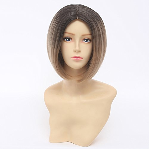 Anime Wig 11.8″ 30cm Haikyuu Karasuno High School Volleyball Club Kenma Kozume Mixed Brown Hair Wig