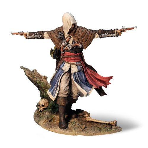 Assassin´s Creed IV Black Flag Statue Edward Kenway Figur The Assassin Pirate 24 cm + Bonusinhalte Videospiel