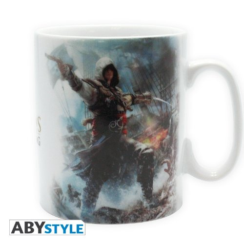 "Assassins Creed IV Tasse ""Black Flag"""