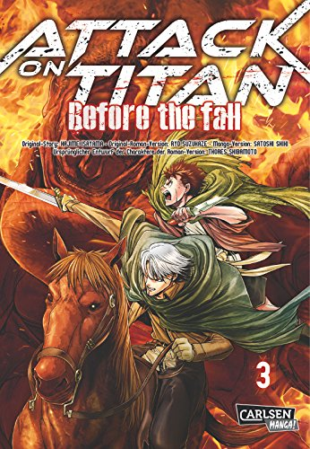 Attack on Titan – Before the Fall, Band 3