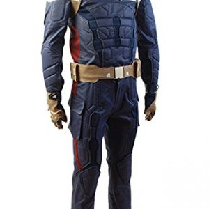 Captain America 2 The Winter Soldier Steve Rogers Uniform Outfit Cosplay Kostuem