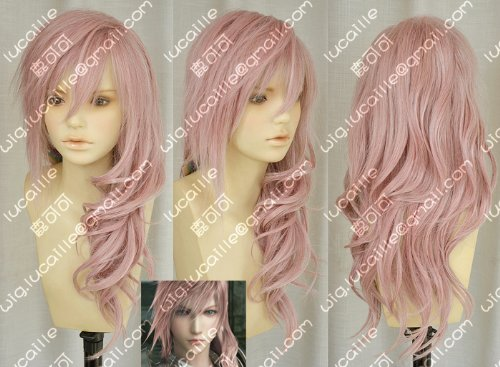 Cosplay wig FF13 Final Fantasy XIII (FINAL FANTASY XIII) Lightning wind costume (japan import)