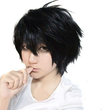 DEATH NOTE L Death Note Cosplay Perücke Anime (Japan-Import)
