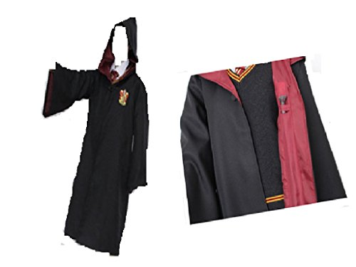 Fashion Hot Harry Potter School Robe Cloak Gryffindor Attire Kostuem Cosplay