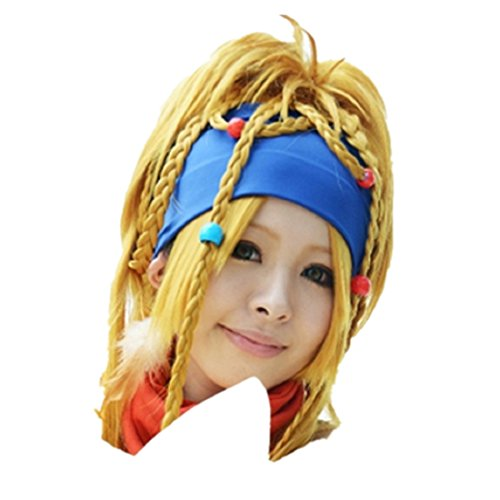 Final Fantasy 10 Rikku Cosplay Peruecke Wig
