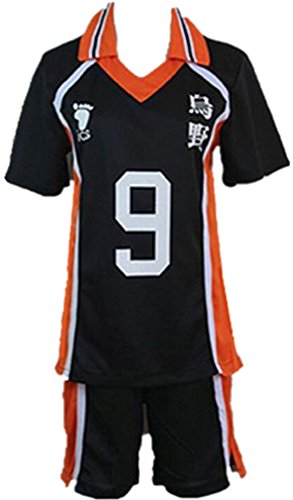 Haikyu!! Haikyuu Karasuno High School Uniform No. 9 Tobio Kageyama Kostuem