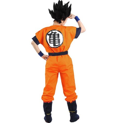 Cosplay Goku Cosplay Kostüme Kamesenryu Training Uniform (Large, Kamesenryu Orange)