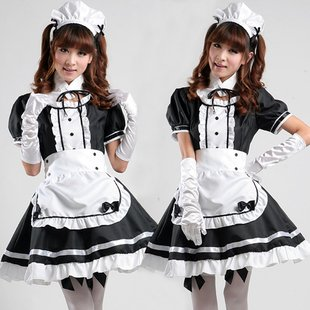 – Is determined by this! Maid] cosplay cute maid fancy outfit full set (7 points) M size (japan import)