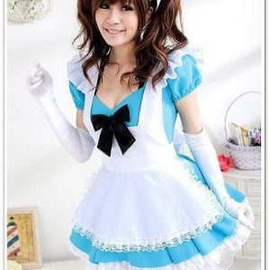 Madonna Lily Shop High-textured Maid Costume / Cosplay popular model Blue (japan import)