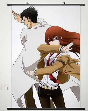 Cosplay Wall Scroll Poster Fabric Painting Makise Kurisu 23.6 X 35.4 Inches-052 by CoSmile