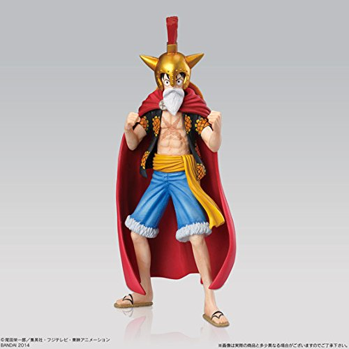 One-Piece-Super-Styling-Battle-Colosseum-Figur-Gladiator-Lucy-Monkey-D-Ruffy-14cm-0