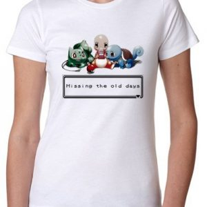Pokemon-Missing-The-Old-Days-T-Shirt-Damen-0