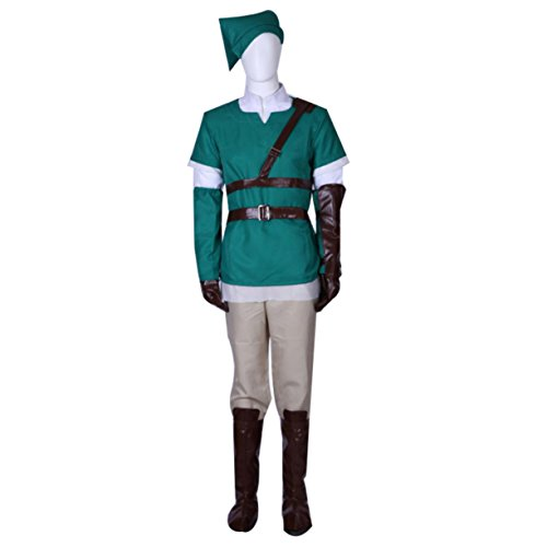 The Legend of Zelda Link Cosplay Anime Party Costume Clothing