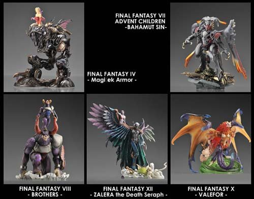 [UK-Import]Final Fantasy Creatures – Kai – 5 Pack