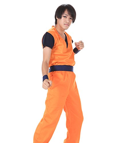 DBZ DragonBall Z Kakarot Son Goku Training Uniform Kid Large 2nd Ver Set Kid L