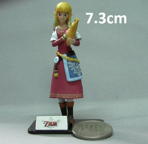 Zelda Skyward Sword Princess Mini Figuren (Zifferngröße 7.3 cm)