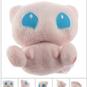 12CM Hot Selling Nintendo Pokemon Rare Mew Plush Soft Doll Toy Gift Stuffed Animal Plush Toys by Papatchaya