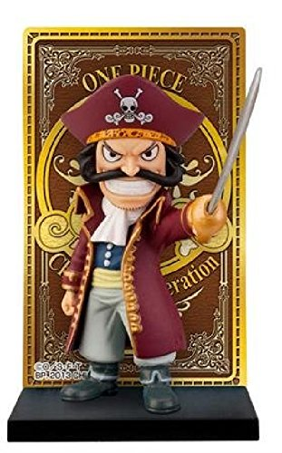 A lot No. One Piece F Prize Roger Pirates Card stand figure Gol D.Roger Single