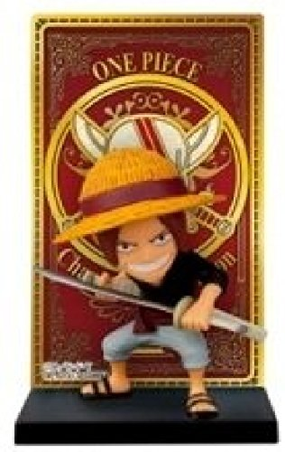 A lot No. One Piece F Prize Roger Pirates Card stand figure Red-Heared Shanks
