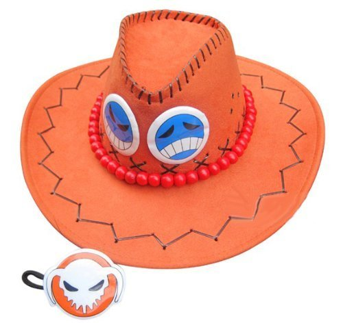 Ace hat orange costume of high quality cosplay tool ONE PIECE port gas D Ace Fire Fist (japan import)