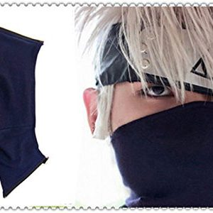 Anime Manga Naruto Cosplay Accessories Ninja Leaf Village Stirnband Kakashi Maske Replik