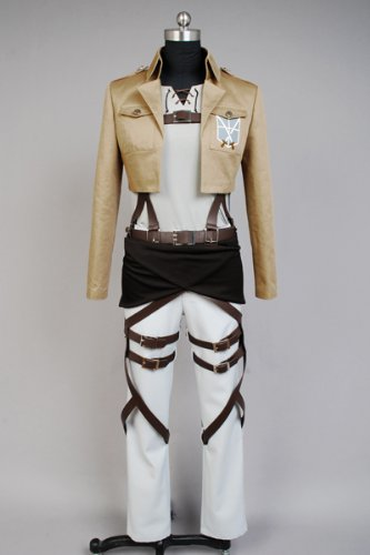 Attack on Titan Eren Jaeger Cosplay Kostüm