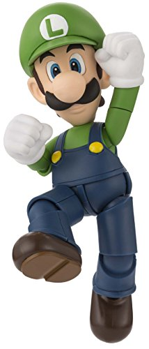 "Bandai Tamashii Nations S.H. Figuarts Luigi ""Super Mario"" Action Figure"