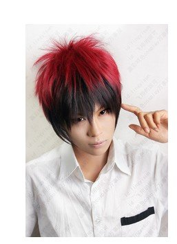 Basketball fire God taiga heat-resistant high quality Kuroko wig and (want but Kagami) cosplay wig costume (japan import)