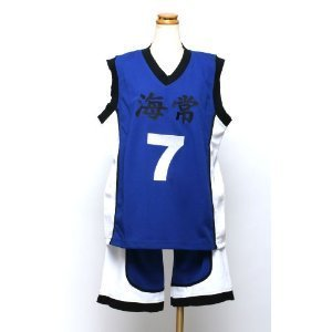 Basketball sea ordinary high school uniform top and bottom size L Kise Ryota CKKUL of cosplay costume black bus lentigo (japan import)