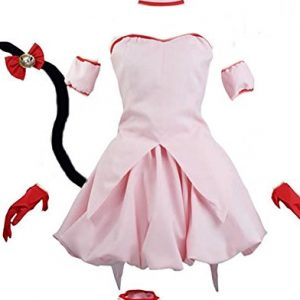 CUSTOM-MADE COSPLAY Tokyo Mew Mew Miu Strawberry Kostuem Damen