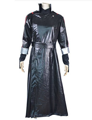 Ch&Ch Gintama Shinpachi Shimura schwarze Uniform Cloth Cosplay