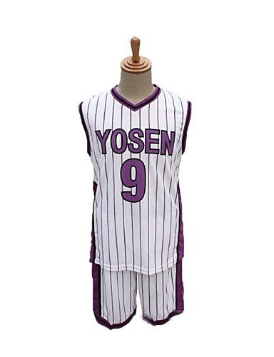 Ch&Ch Kurokos Basketball yosen no.9 murasakibaru Atsushi Ball cosplay Uniform