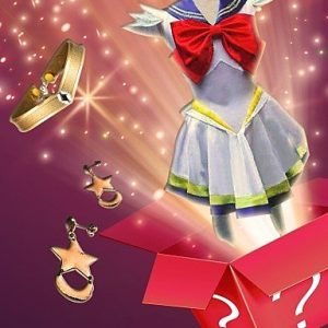Ch&Ch Sailor Moon Series Cosplay Costume + Accessory (Random Gifts)