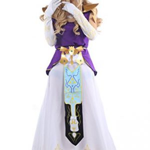 Customize-Halloween The Legend Of Zelda Cosplay Prinzessin Dress Kleidung Merchandise
