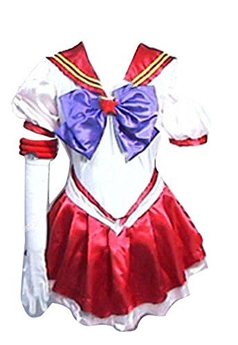 CUSTOM-MADE Eternal Sailor Moon Eternal Sailor Mars Costume Herren