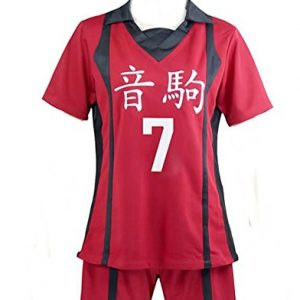 CUSTOM-MADE COSPLAY Haikyu So Inuoka Nekoma Schuluniform Herren