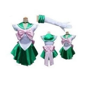 [Keine Marke Waren] super Narikiri! Sailor Jupiter-Stil Cosplay [L Groesse fuer den Seemann Mann] Kostuem Sailor Moon Anime Cosplay