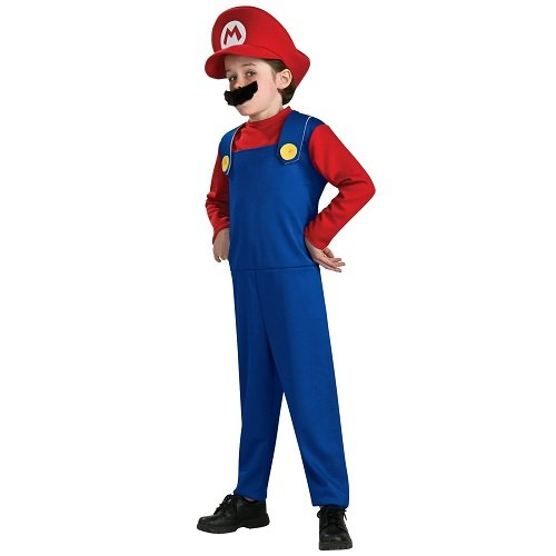 Kinder Super Mario Cosplay Hut Bart Kost?m-Set Weihnachtsveranstaltungen (Japan-Import)